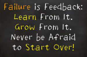 Failure is Feedback
