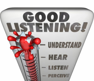 Good Listening Thermometer Measure Information Retention